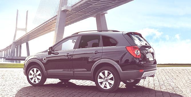 Nuevo Chevrolet Captiva 2011